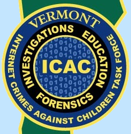 a picture of the vermont icac logo