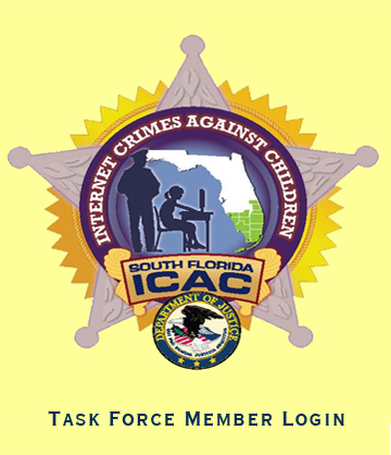 A picture of the South Florida ICAC taskforce logo